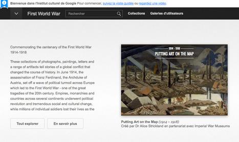 Google Art Project : les collections en ligne de musées sur la Grande Guerre | La Grande Guerre | Scoop.it