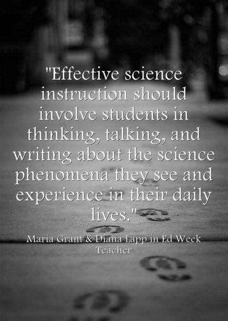 Response: Teaching ELLs That 'Science Is a Verb' | Next Generation Science Standards- | Scoop.it