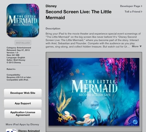 Let's Play OC!: Second Screen Live: The Little Mermaid! #Review @DisneyPictures #LittleMermaid | screen seriality | Scoop.it