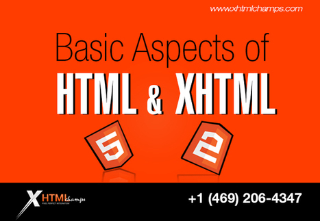 Basic Aspects of HTML and XHTML | xhtmlchamps blog | Web Design and Development | Scoop.it
