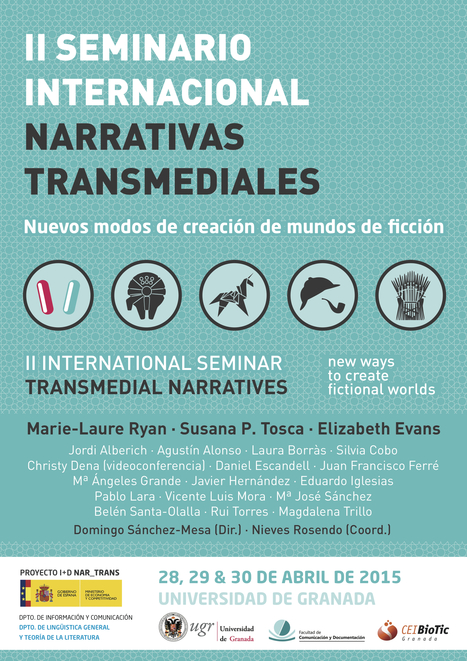 The II Int. Seminar Transmedial Narratives (University of Granada) website in English | Transmedia Storytelling. Intermediality & Adaptation in Digital Cultures International Seminar. University of Granada | Scoop.it