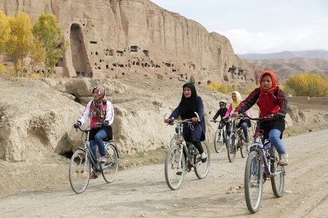 Wheels of Change: Afghan Women Ride Bikes Despite Threats and Opposition | Australia: No 'boundless plains to share' | Scoop.it