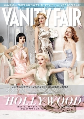 GREAT ARTICLES: Vanity Fair 2012 Hollywood Cover --11 Thoroughly Modern Actresses | TonyPotts | Scoop.it