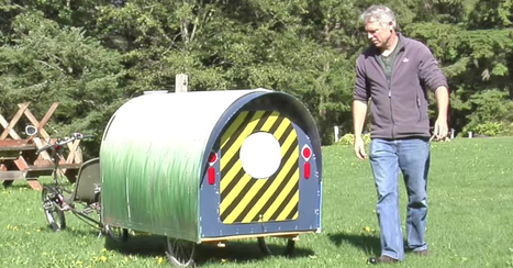 He Says He Lives In This Tiny Camper. When He Shows The Inside? Unbelievable!   Random Stuff On The Net   Scoop.it