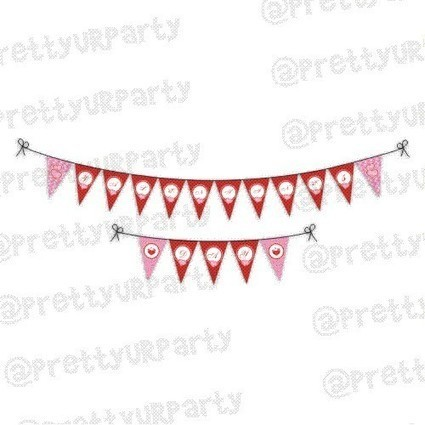 Valentines Day Bunting | Valentines Day Supplies India - PrettyurParty | Pretty Ur Party | Scoop.it