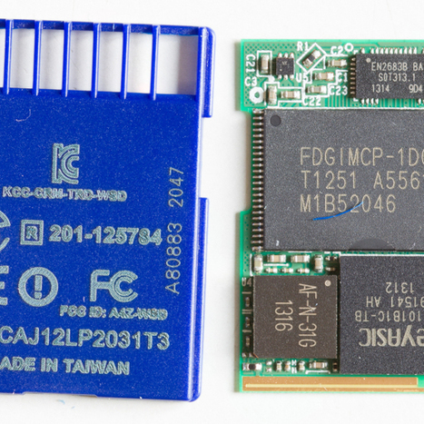 Transcend Wifi SD Card Is A Tiny Linux Server   Open Source Hardware News   Scoop.it