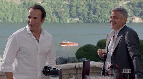 Jean Dujardin et George Clooney dans la nouvelle pub Nespresso   Publicité - Advertising   Scoop.it