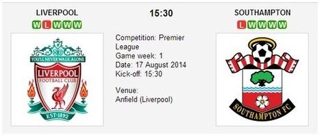Liverpool vs. Southampton - Premier League Preview | Pronostici scommesse | Scoop.it