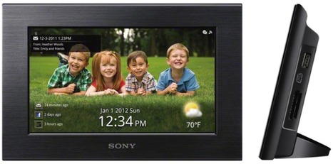 Sony readying Wi-Fi touch-screen photo frame | Technology and Gadgets | Scoop.it