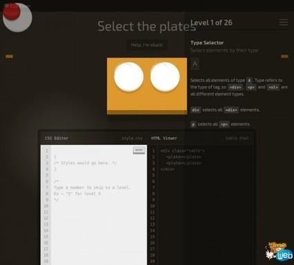 CSS Diner: Un jeu ludique pour apprendre à maîtriser les sélecteurs CSS   Au fil du Web   Scoop.it