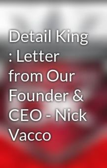 Detail King : Letter from Our Founder & CEO Nick Vacco - Wattpad   Detail King   Scoop.it