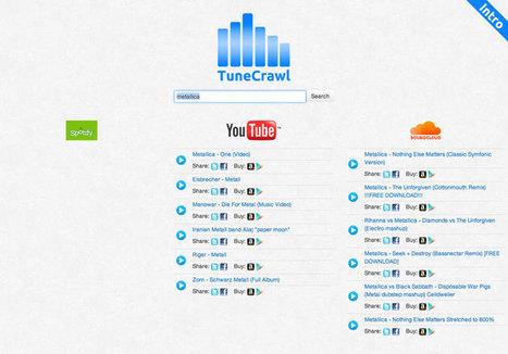 TuneCrawl : un métamoteur de musique pour YouTube, Spotify et SoundCloud   Time to Learn   Scoop.it