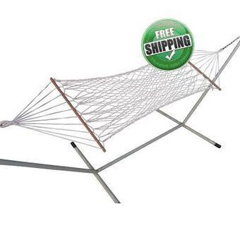 3' Feet Wide Basics Natural Rope Hammock Patio Outdoor Furniture - Single Person Use | Online hammock swing furniture shopping store India | Scoop.it