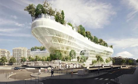 Paris Is Building A Floating Village In The Middle Of A Forest | Real Estate Plus+ Daily News | Scoop.it