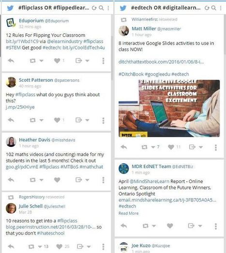 It's a Scan and Learn World: 5 Great Tools With Customizable Feeds — Emerging Education Technologies   The DigiTeacher   Scoop.it
