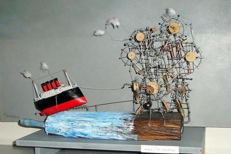 Les extravagantes machines de Philippe Le Gall | Heron | Scoop.it