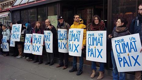 Ni résignés ni effrayés : des milliers de personnes pour la justice climatique et la paix   Shabba's news   Scoop.it