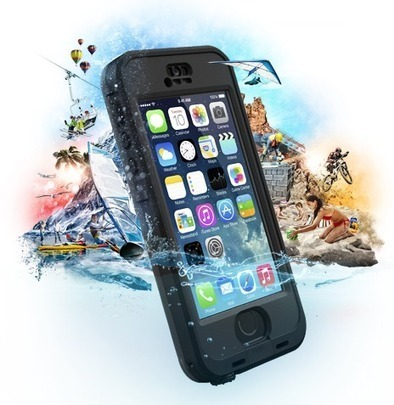 LifeProof nuud iPhone 5s case is waterproof Touch ID-friendly offering | iphone | Scoop.it