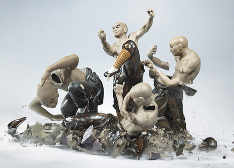 Epic Action Photos of Porcelain Figurines Shattering Against the Ground | Bohunt Photography | Scoop.it