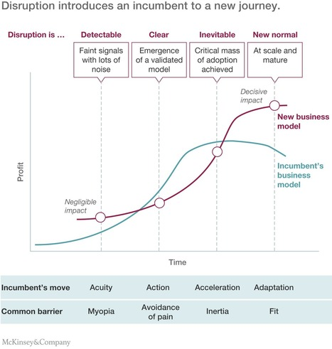 An incumbent's guide to digital disruption | McKinsey & Company | Grande Passione | Scoop.it