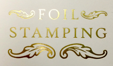Get Your Wedding Cards Printed Using Hot Foil Stamping for Shiny Finish   The Wedding Cards Online   Scoop.it