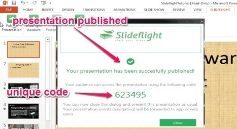 PowerPoint Add-in To Share Slides For Web/Mobile Access   Time to Learn   Scoop.it