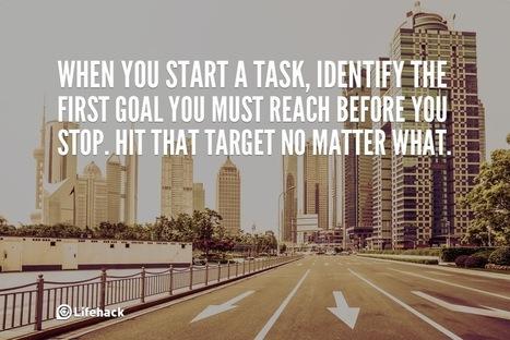 30sec Tip: Hit the Target No Matter What. - Lifehack | Digital-News on Scoop.it today | Scoop.it