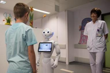 Liège: «Pepper le robot» a débarqué à l'hôpital de la Citadelle (video) | Une nouvelle civilisation de Robots | Scoop.it