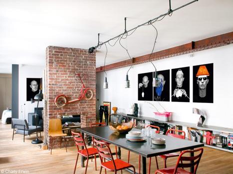 Esprit New York à Paris | | PLANETE DECO a homes worldPLANETE DECO a homes world | Immobilier | Scoop.it