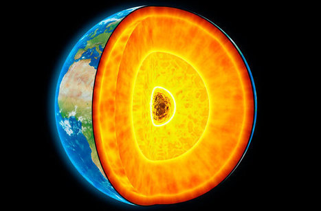 Trickling of melted iron led to formation of Earth core - Pentagon Post | Geology | Scoop.it