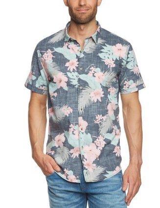 !@#   TOM TAILOR Denim Herren Freizeithemd 20184430012/AOP shirt, Gr. 44 (XS), Schwarz (2578 smooth black)   Hemden Bekleidung   Scoop.it