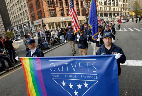 Gay, transgender veterans march for the first time in Boston Veterans Day parade | notstraight.com | Scoop.it
