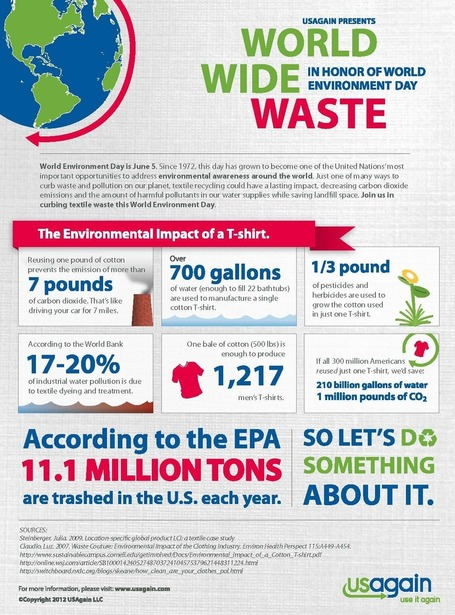 Lets Celebrate World Environment Day [Infographic] | All Infographics | The Glory of the Garden | Scoop.it