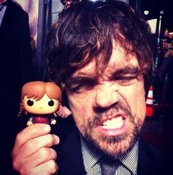 Game of Thrones Actors Pose With Their Tiny, Big-Headed Dopplegangers | Geek On | Scoop.it