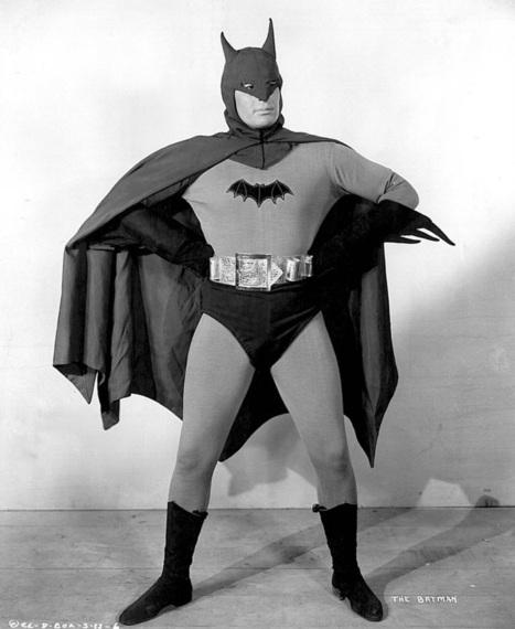 La prima apparizione cinematografica di Batman | Eightball | Scoop.it