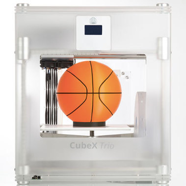 3D Systems\' CubeX 3D printer does three color prints \'as big as a basketball\' | This week in 3d printing | Scoop.it