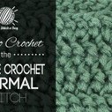 How to Crochet the Double Crochet Thermal Stitch NewStitchaDay ...   crochet   Scoop.it
