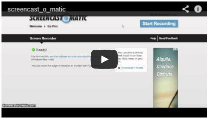 Screencast-o-matic | tecno4 | Scoop.it