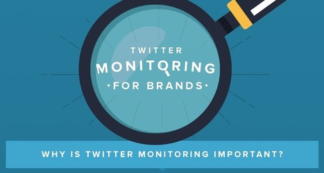 The Importance of Twitter Monitoring for Brands [Infographic] - Twilert Blog | Blogging | Scoop.it