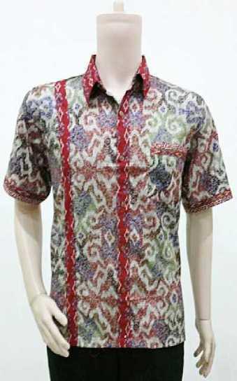 Batik Hem Pria Trendy Motif Tenun Series BP781 | Toko Online Batik Ganitri | mischaYY | Scoop.it