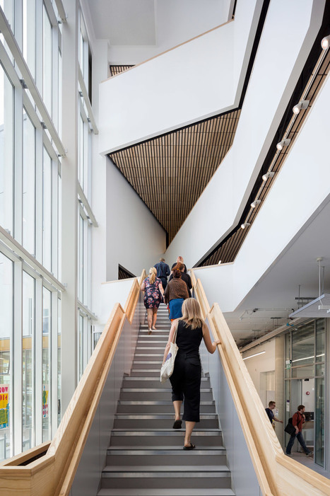 Penoyre & Prasad builds architecture school for Portsmouth university | retail and design | Scoop.it