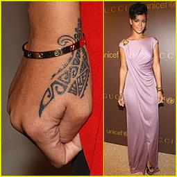 Modele tatouage main Rihanna | TAHITI Le Mag | Scoop.it