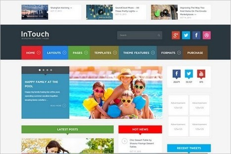 5 New and Attractive WordPress Themes from ThemeForest | Free & Premium WordPress Themes | Scoop.it