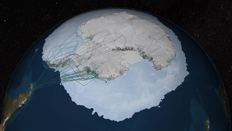 NASA's IceBridge Mission Contributes to New Map of Antarctica | Sciences & Technology | Scoop.it