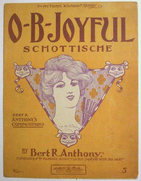"Victorian Era Sheet Music ""O-B-Joyful"" Schottische by Bert R Anthony | Daily Paper | Scoop.it"