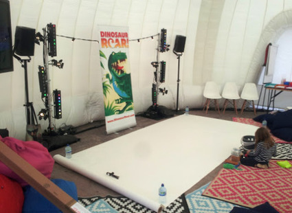 Painting Dinosaur Roar! at the Guardian Children's Book Festival 2015 | Dinosaur Roar! | Scoop.it