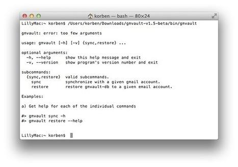Sauvegarder Gmail avec Gmvault | Korben | Internet: Recherche et Sécurité | Scoop.it
