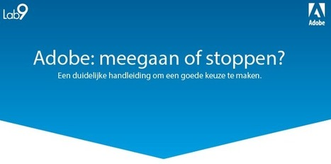 Adobe Creative Cloud: meegaan of stoppen? | good to know | Scoop.it