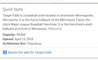 Google Adds Quick Facts to Maps - Search Engine Watch | Location Is Everywhere | Scoop.it