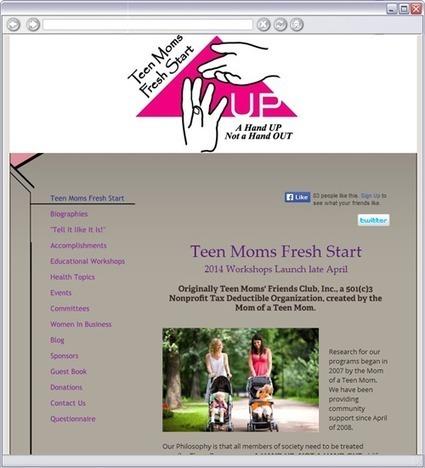 Teen Moms Fresh Start | prgrams that help teen parents graduate | Scoop.it